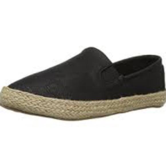 Seven7 Shoes - Seven 7 Cape Verde Black Espadrille Flats Size 9